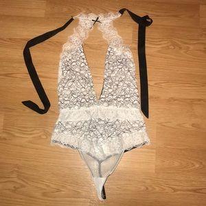 Victoria secret lace bodysuit